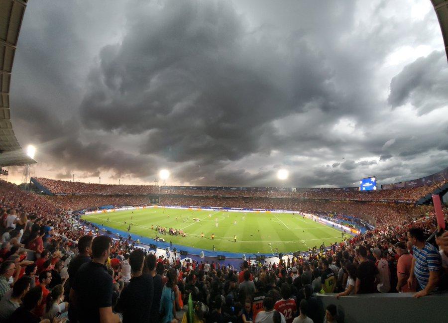 Nueva Olla - final Sul-Americana