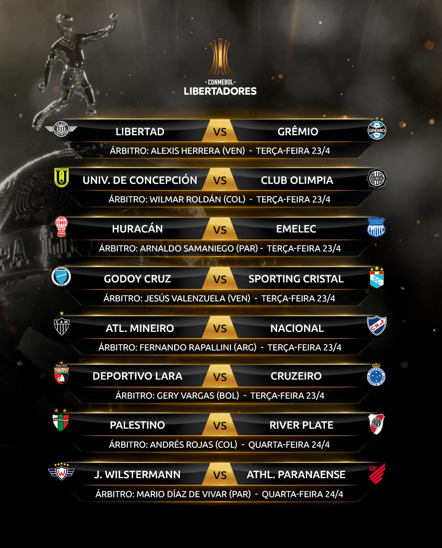 Árbitros Rodada 5-1 Libertadores
