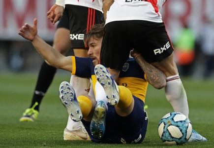 AFP River Plate Boca Juniors Superclasico Superliga Alexis Mac Allister 02092019