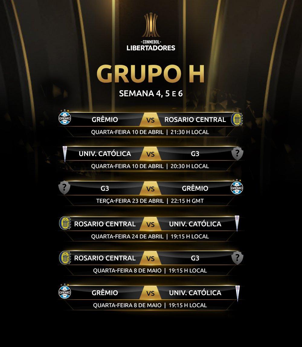 Grupo H - Libertadores (2)