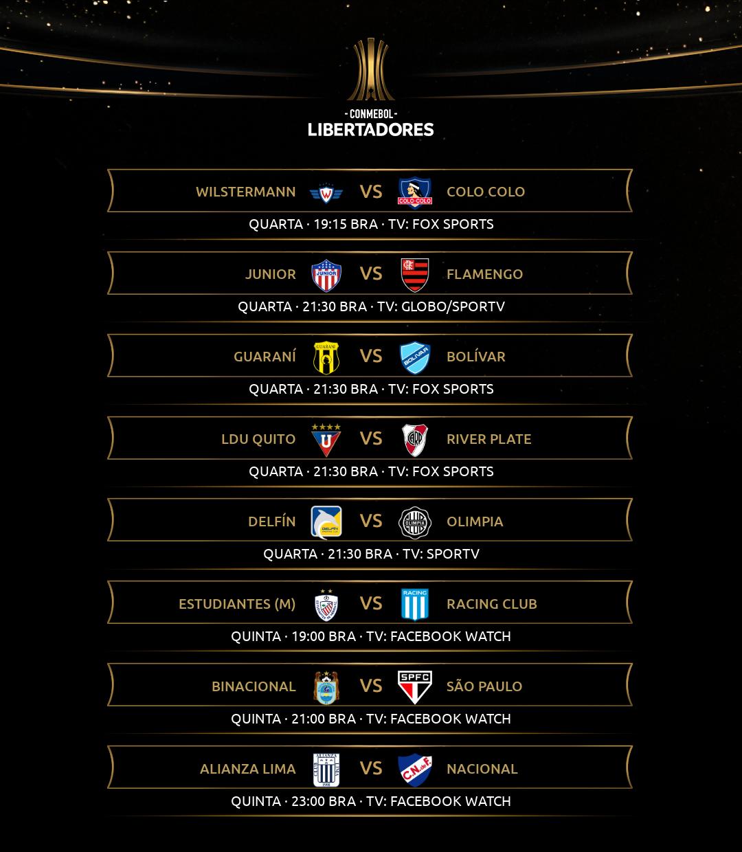 Rodada 1 - Libertadores (1)