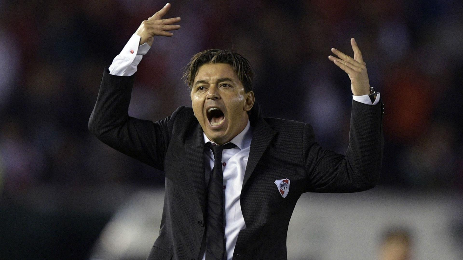 AFP Marcelo Gallardo River Plate Independiente CONMEBOL Libertadores
