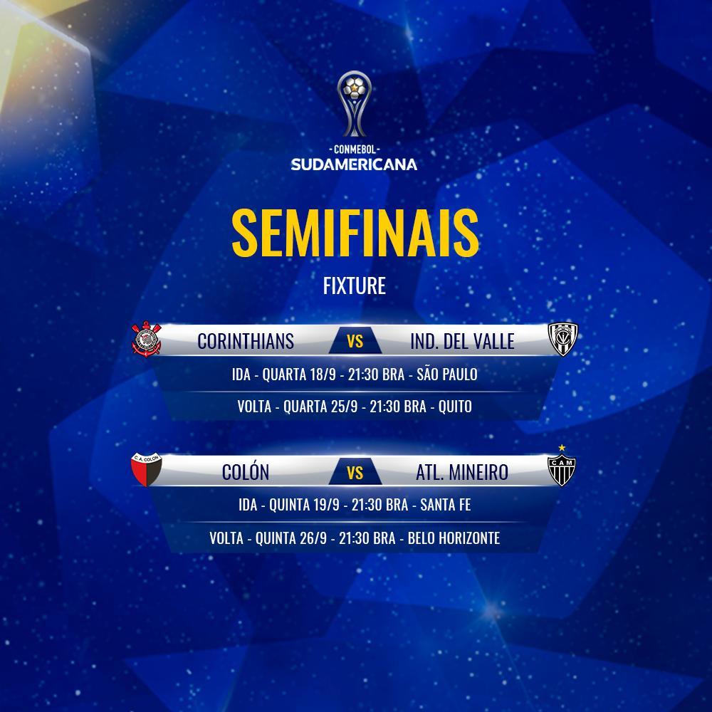 Semifinais Sul-Americana 2019