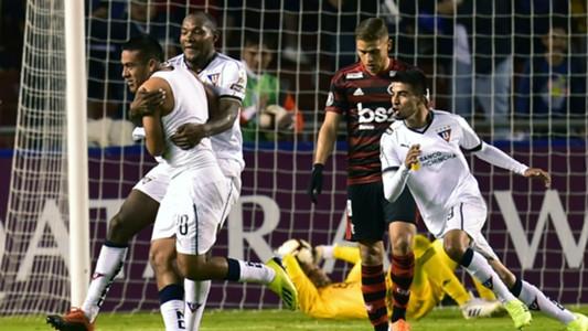 AFP Andrés Chicaiza Liga de Quito Flamengo Copa Libertadores 2019