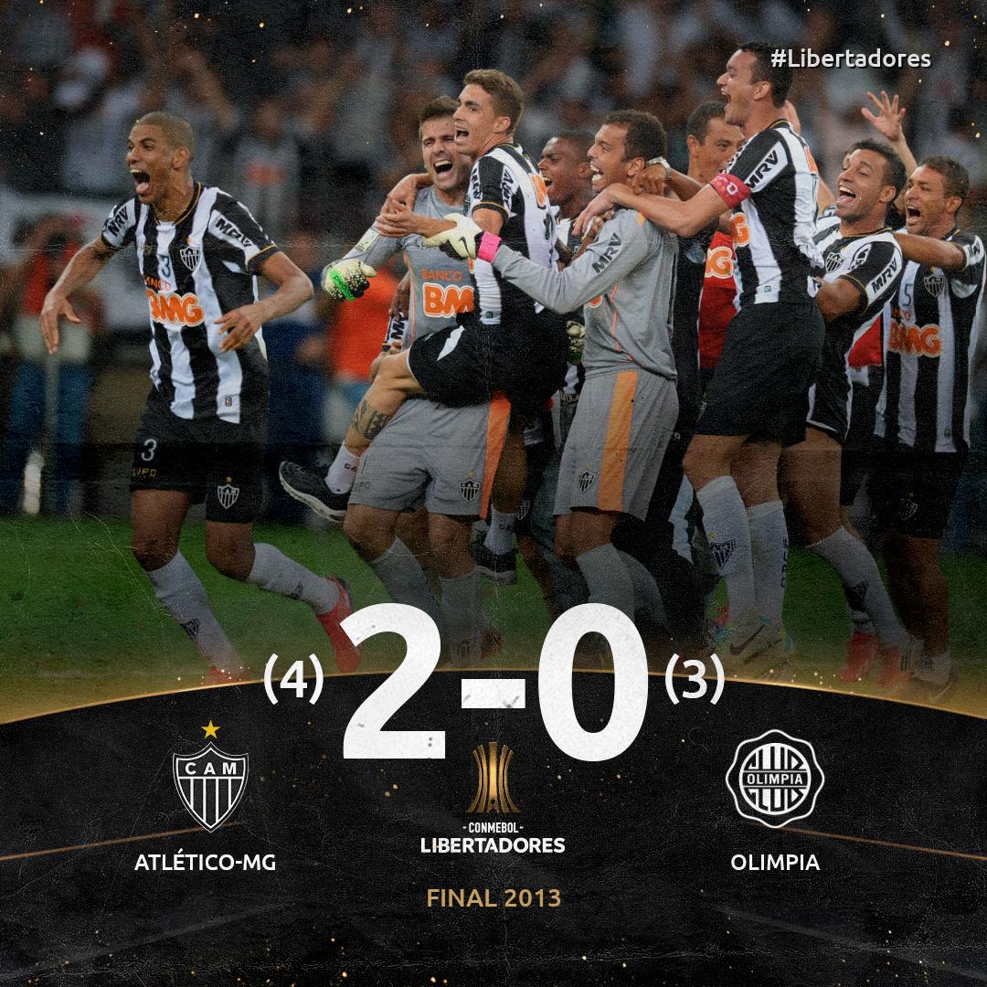 Atlético x Olimpia - Libertadores 2013