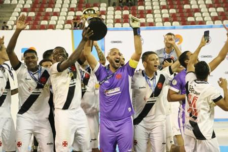 Vasco campeão Libertadores de Praia