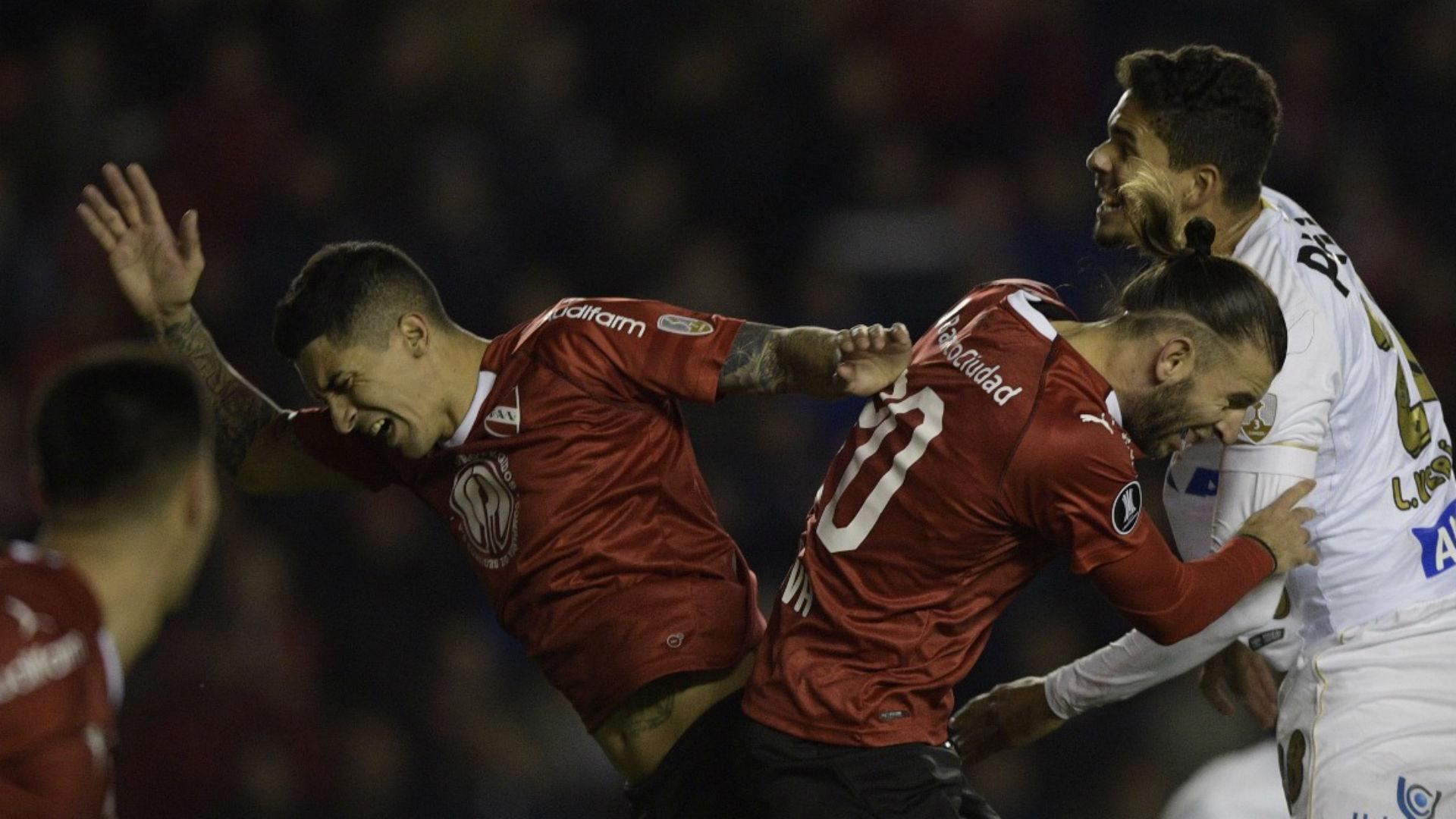 AFP Independiente-Santos Copa Libertadores 2018