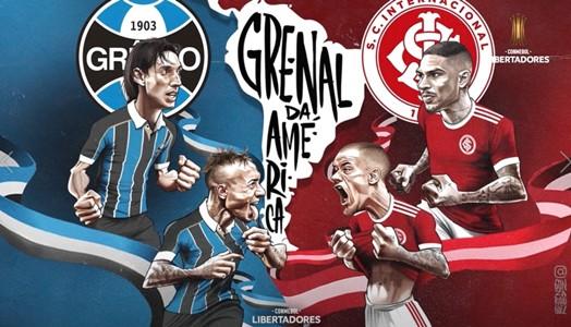 Arte especial - Gre-Nal Libertadores