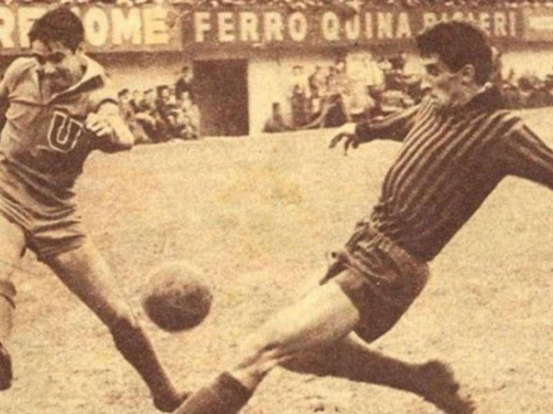 Boca camiseta Milan CONMEBOL Libertadores 1963