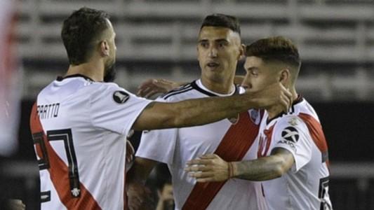AFP Matias Suarez River Plate Copa Libertadores 2019