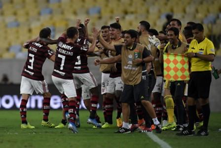 AFP Flamengo Grêmio Libertadores 2019