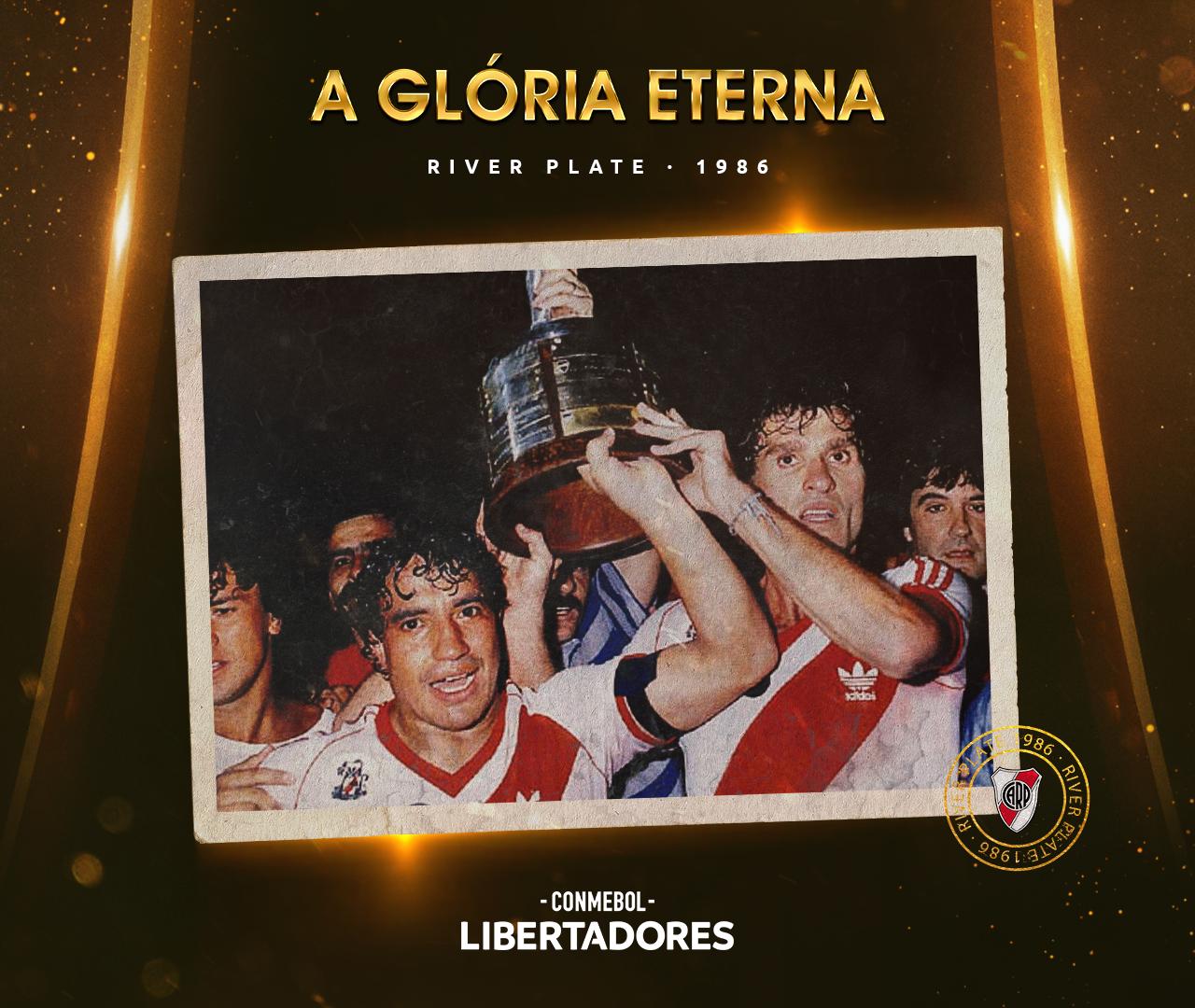 River Plate Libertadores 1986