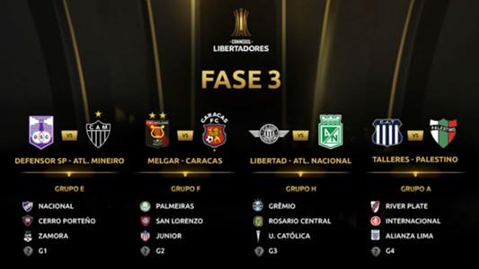 Fase 3 Copa Libertadores 2019