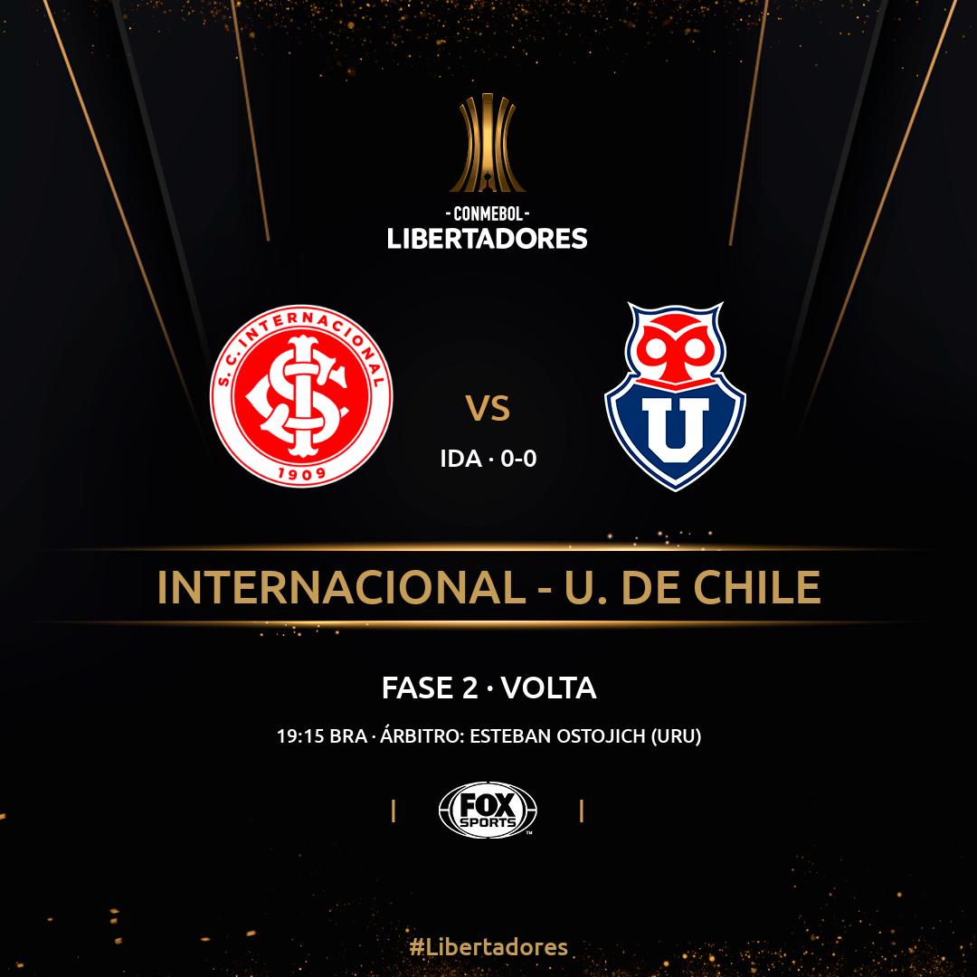 Inter x La U - Libertadores - Volta
