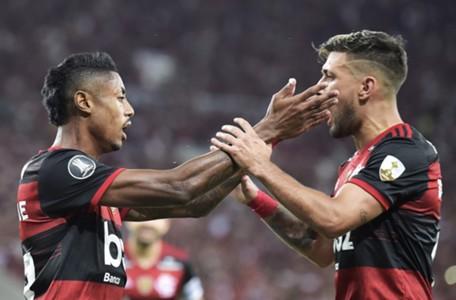 AFP Flamengo Barcelona Libertadores 2020
