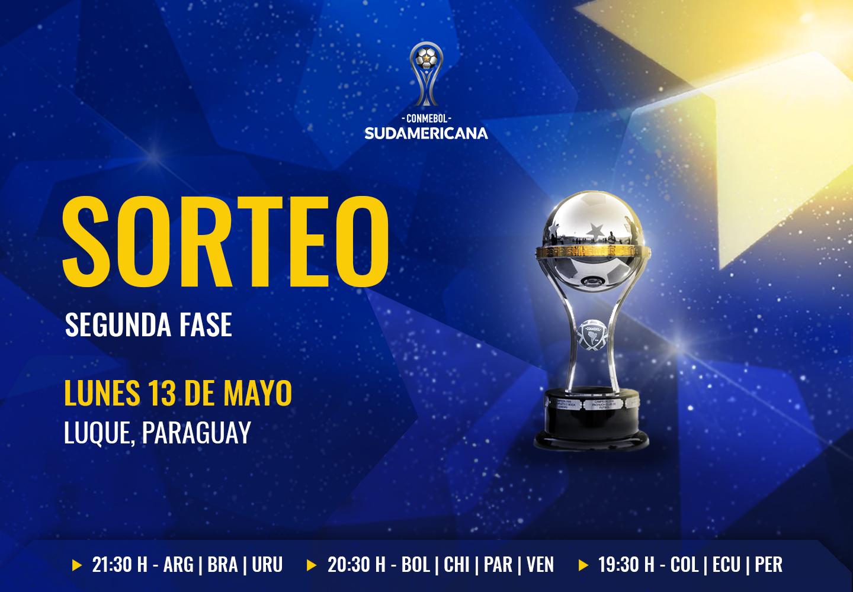 Sorteo CONMEBOL Sudamericana segunda fase