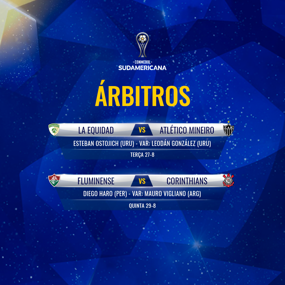 Arbitragem quartas Sul-Americana