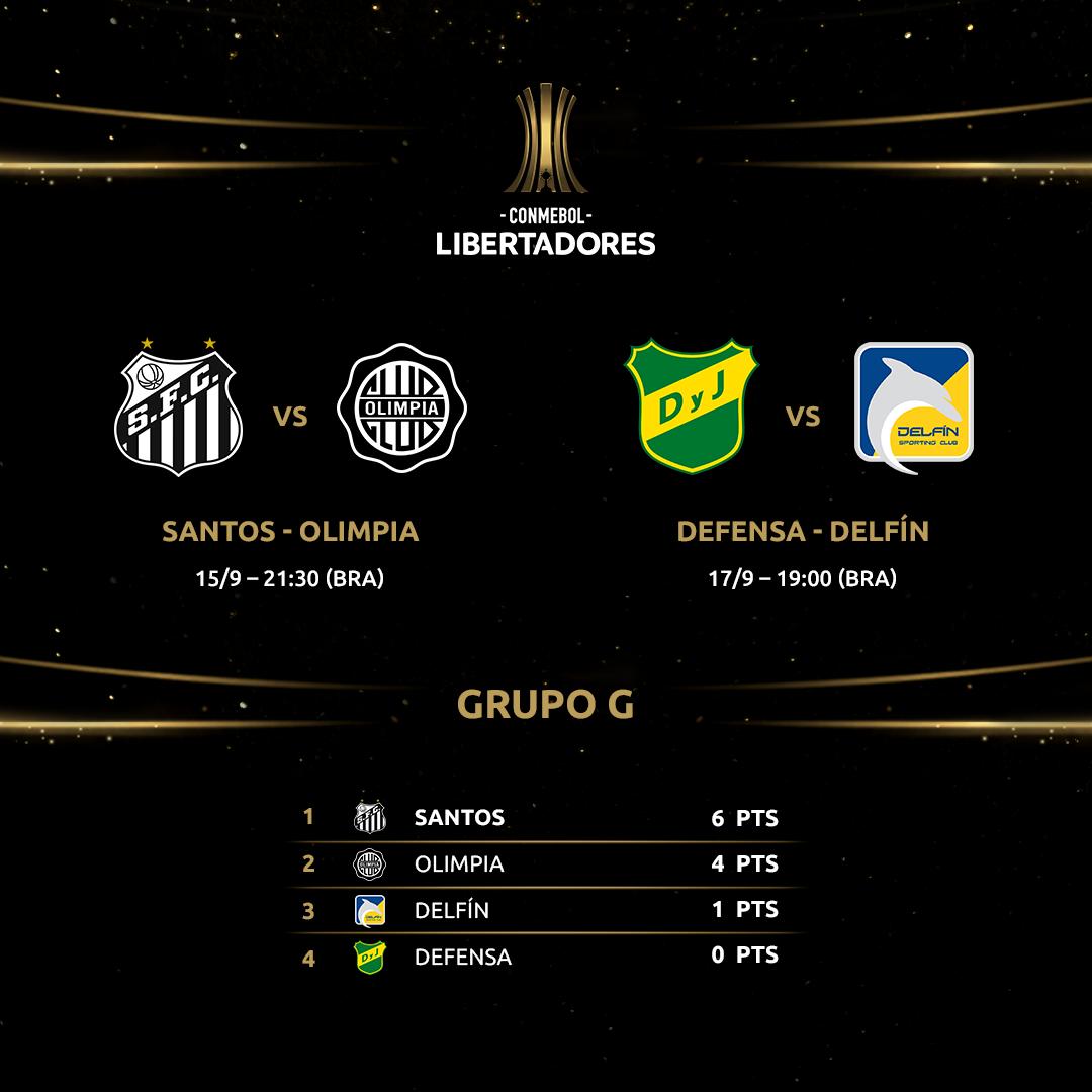 Grupo G - Libertadores