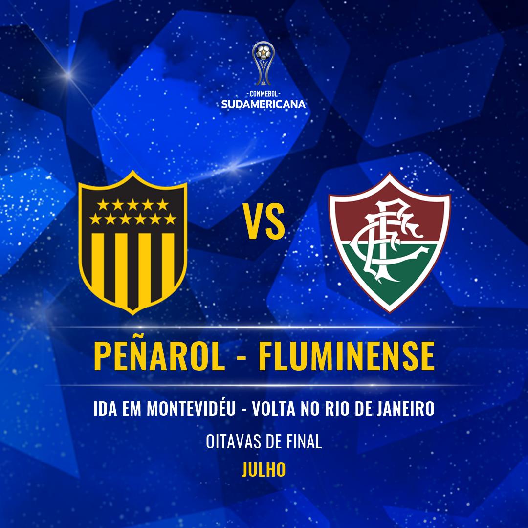 Peñarol x Fluminense - Sul-Americana