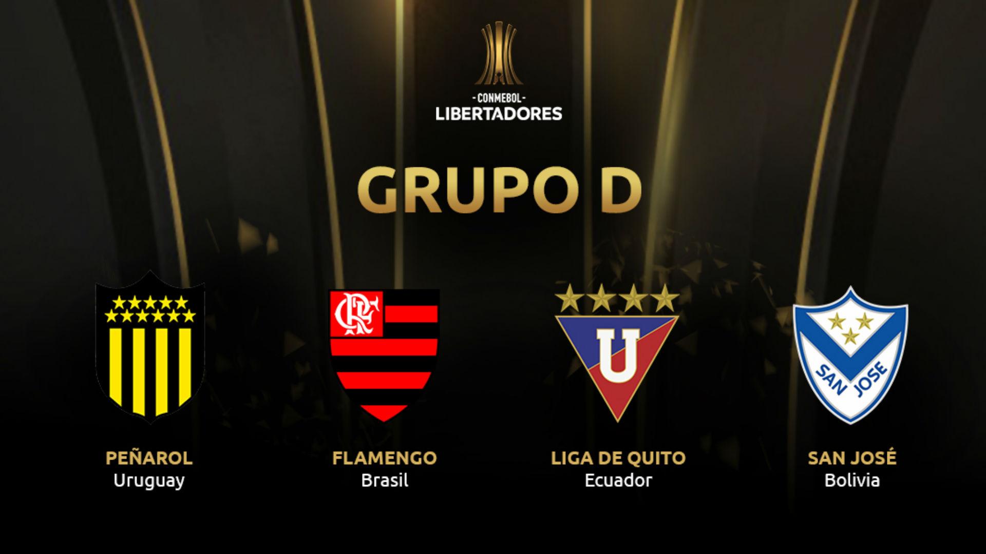 Grupo D Copa Libertadores 2019