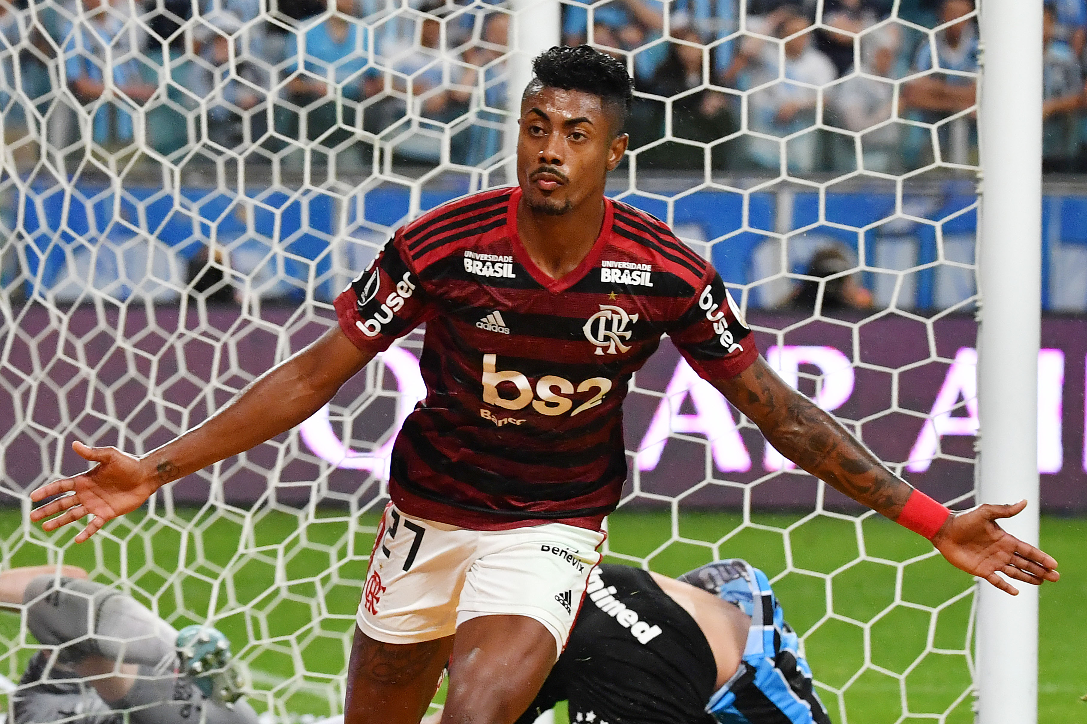 AFP Bruno Henrique Flamengo Grêmio Copa Libertadores 2019