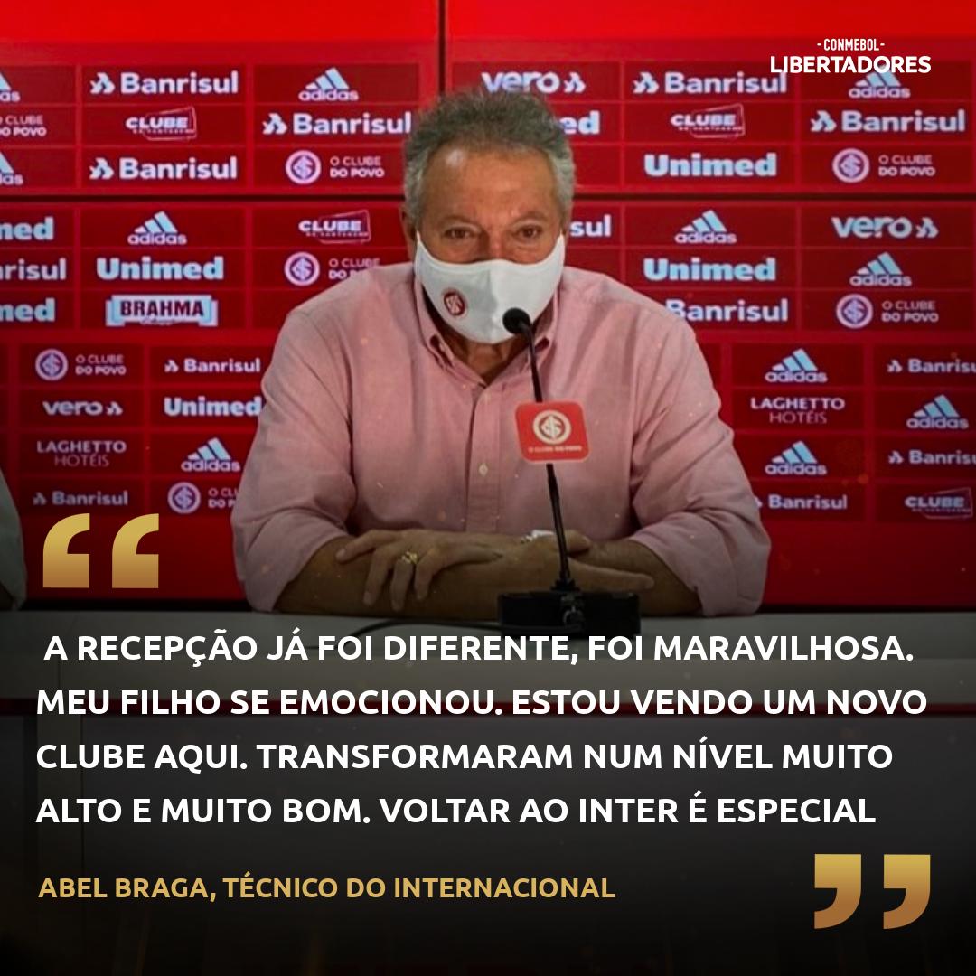 Abel Braga - Internacional - Libertadores
