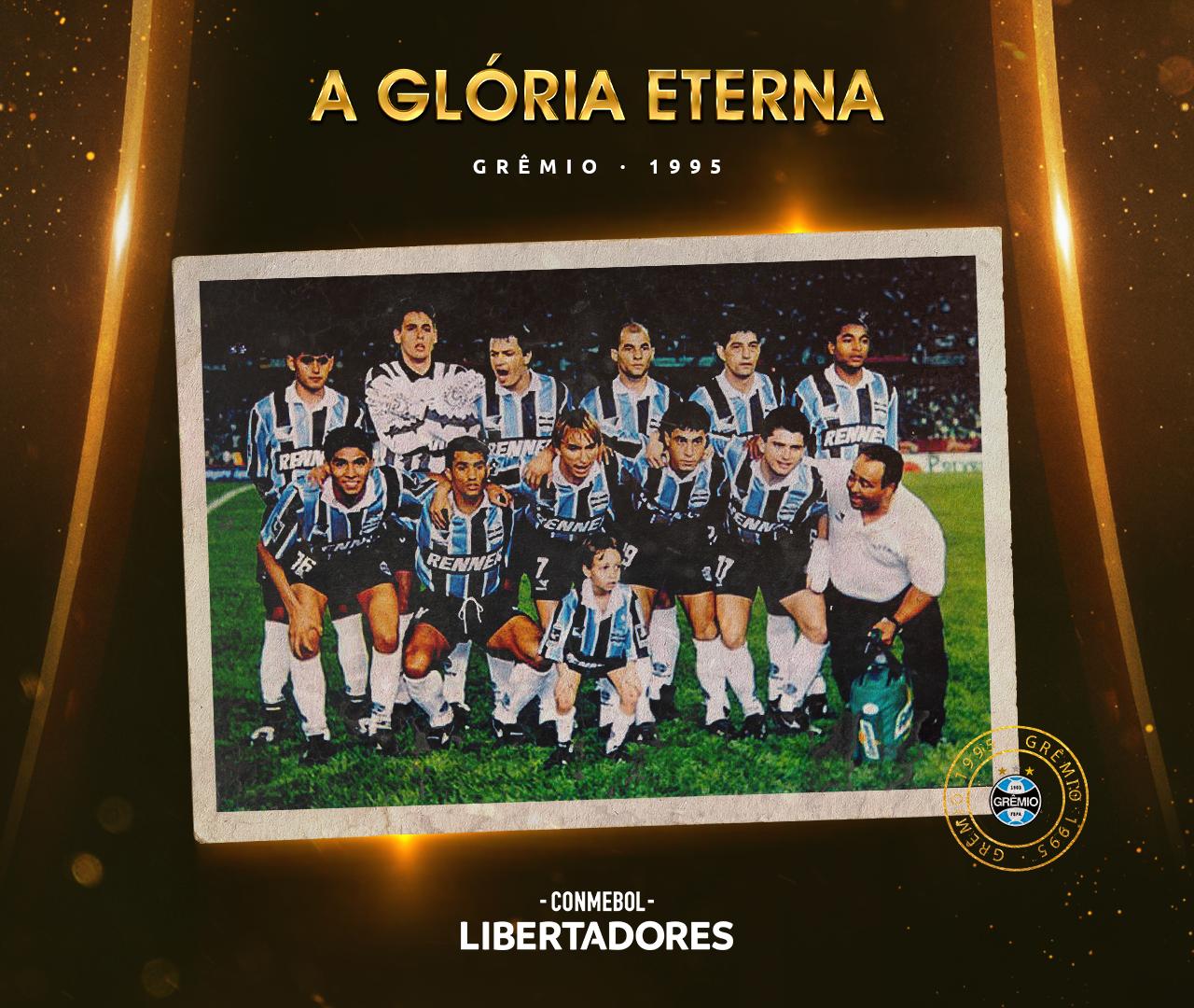 Grêmio Libertadores 1995