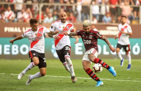 Gabriel Barbosa Gabigol Flamengo Libertadores