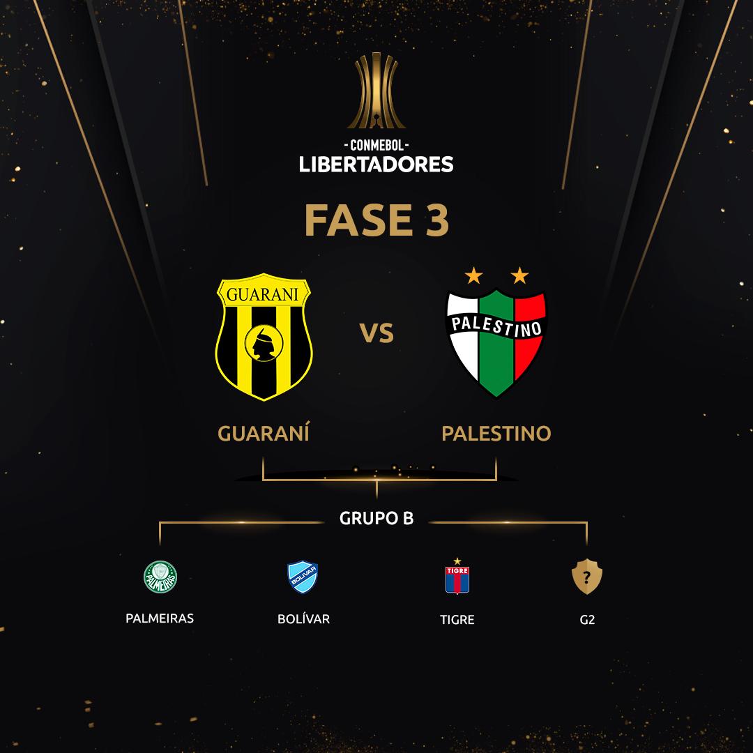 Fase 3 - Grupo B Libertadores