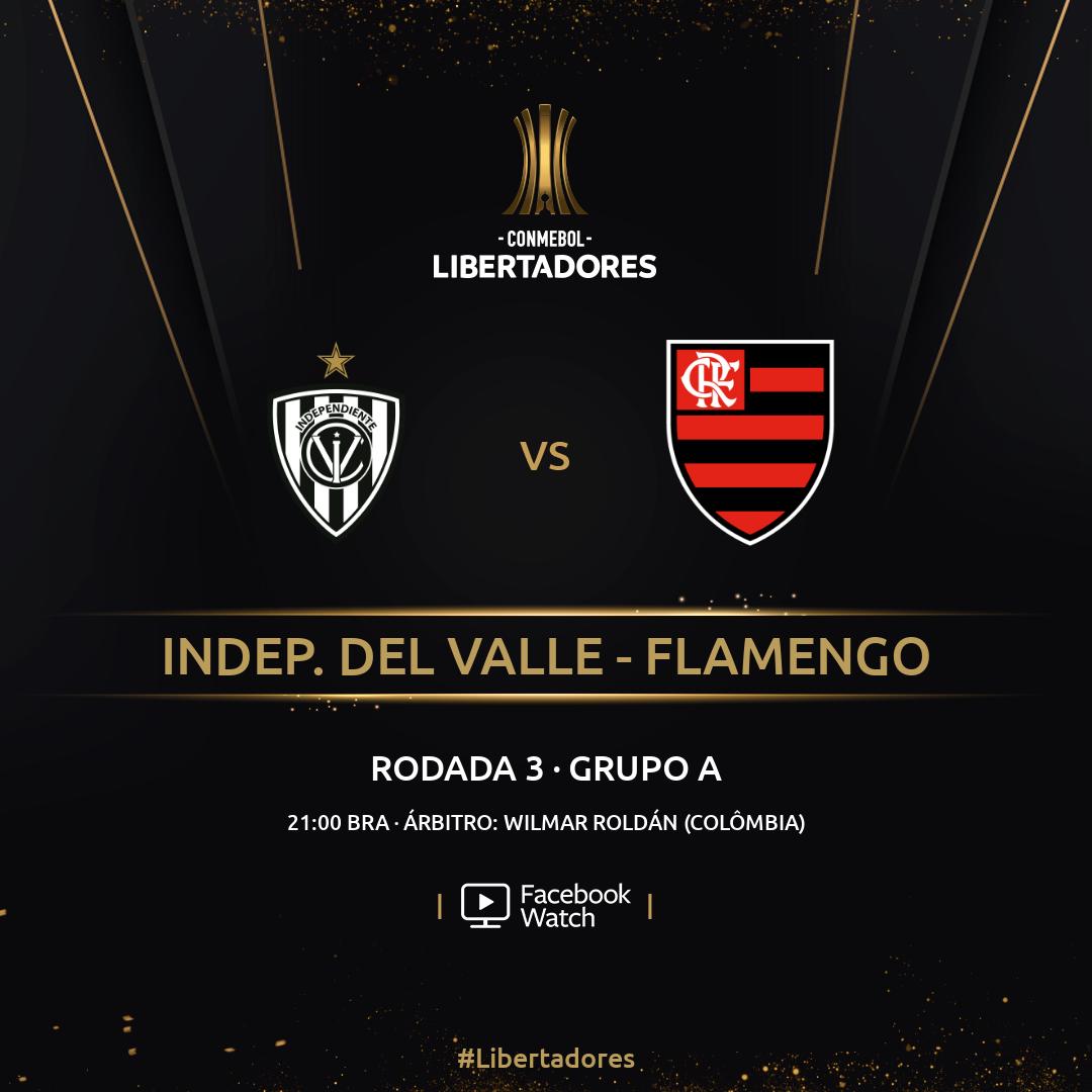 Del Valle x Flamengo - Libertadores