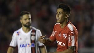 Maximiliano Meza AFP Independiente Copa Sudamericana