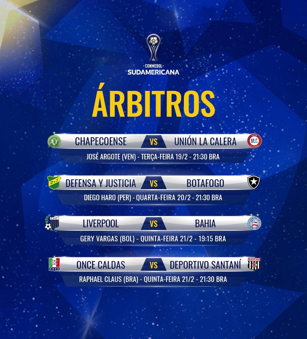 Árbitros - Sulamericana