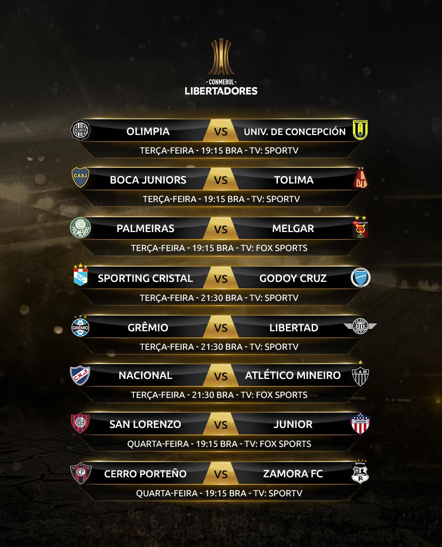 Rodada - Libertadores 1