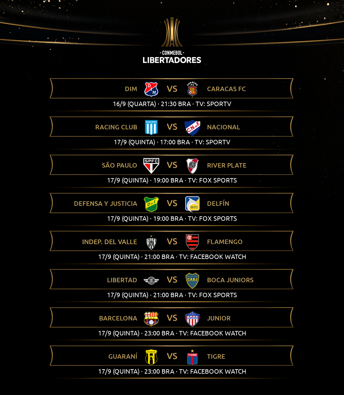 Terceira rodada - Libertadores