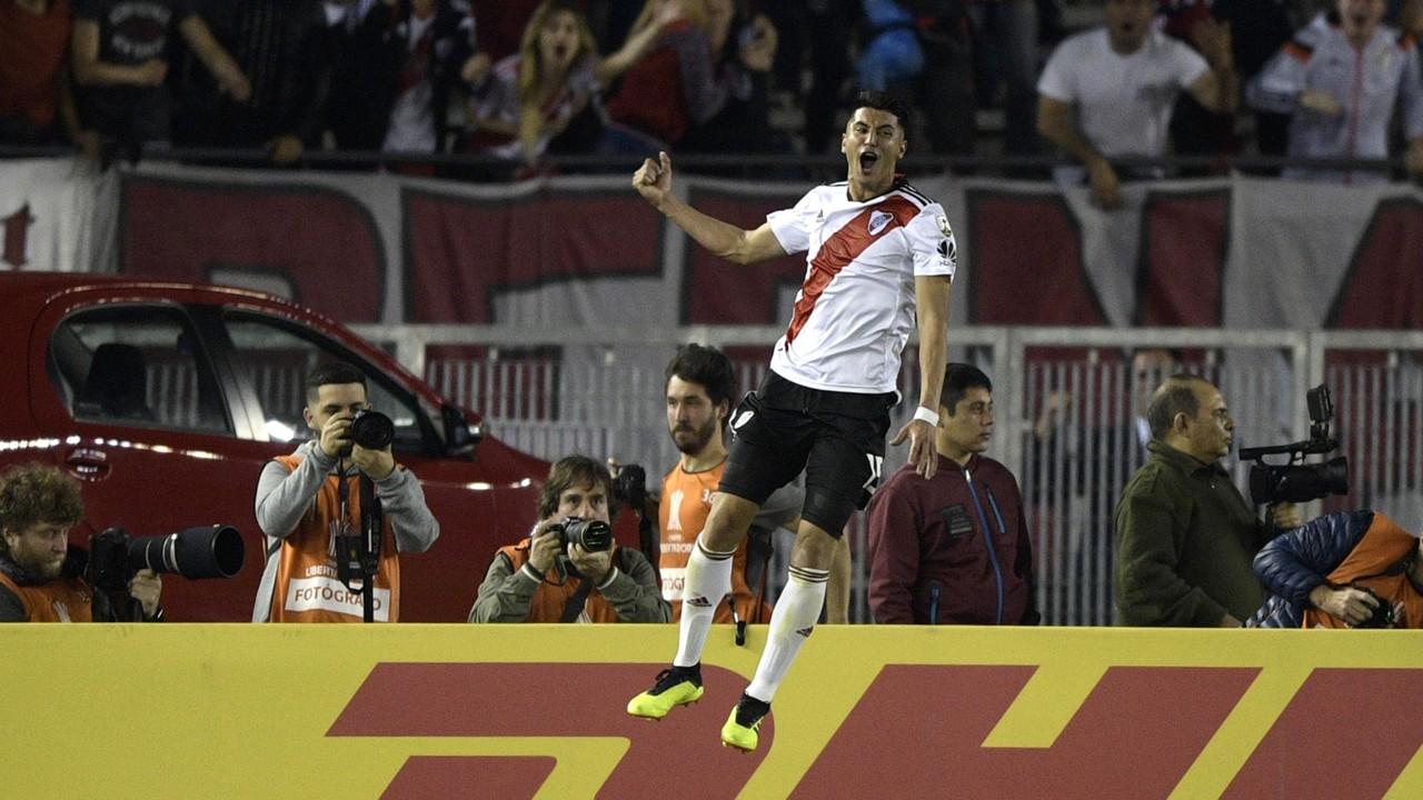 AFP River Plate Racing Club Copa CONMEBOL Libertadores 29082018 Exequiel Palacios