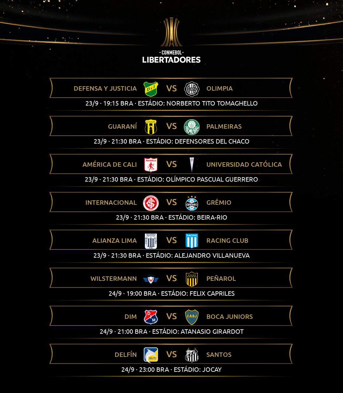 Libertadores - Rodada 4-2