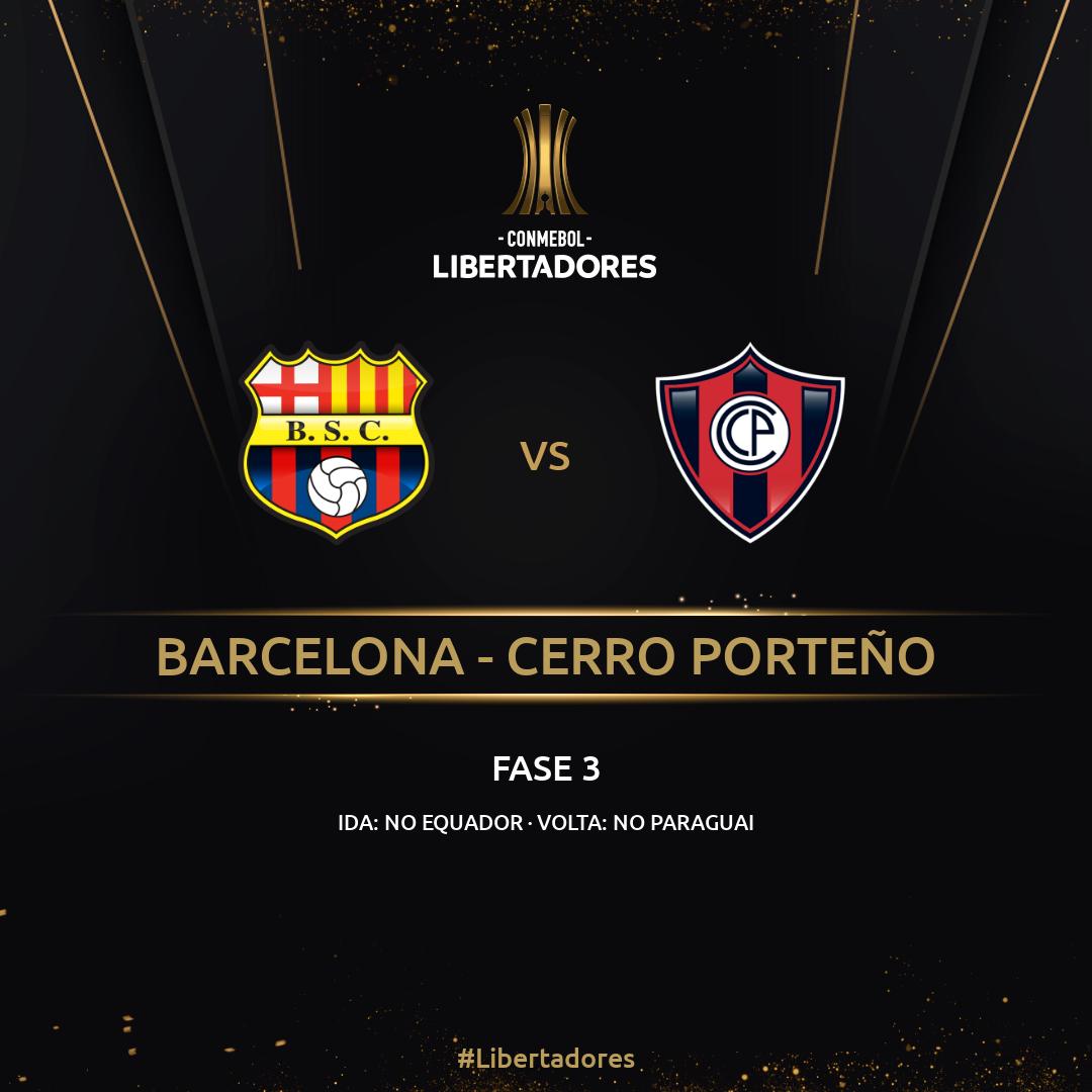 Barcelona x Cerro - Libertadores
