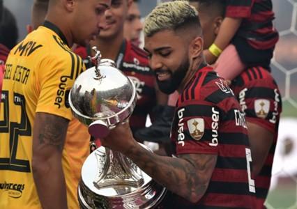 AFP Gabriel Barbosa Gabigol Flamengo Libertadores
