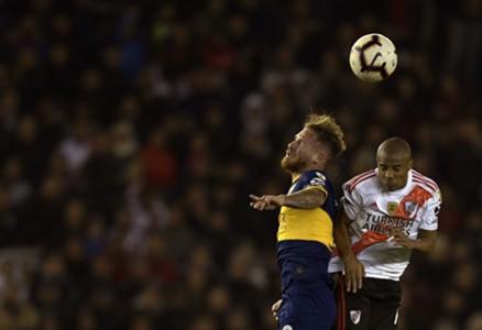 Alexis Mac Allister River Boca Superclásico semifinal