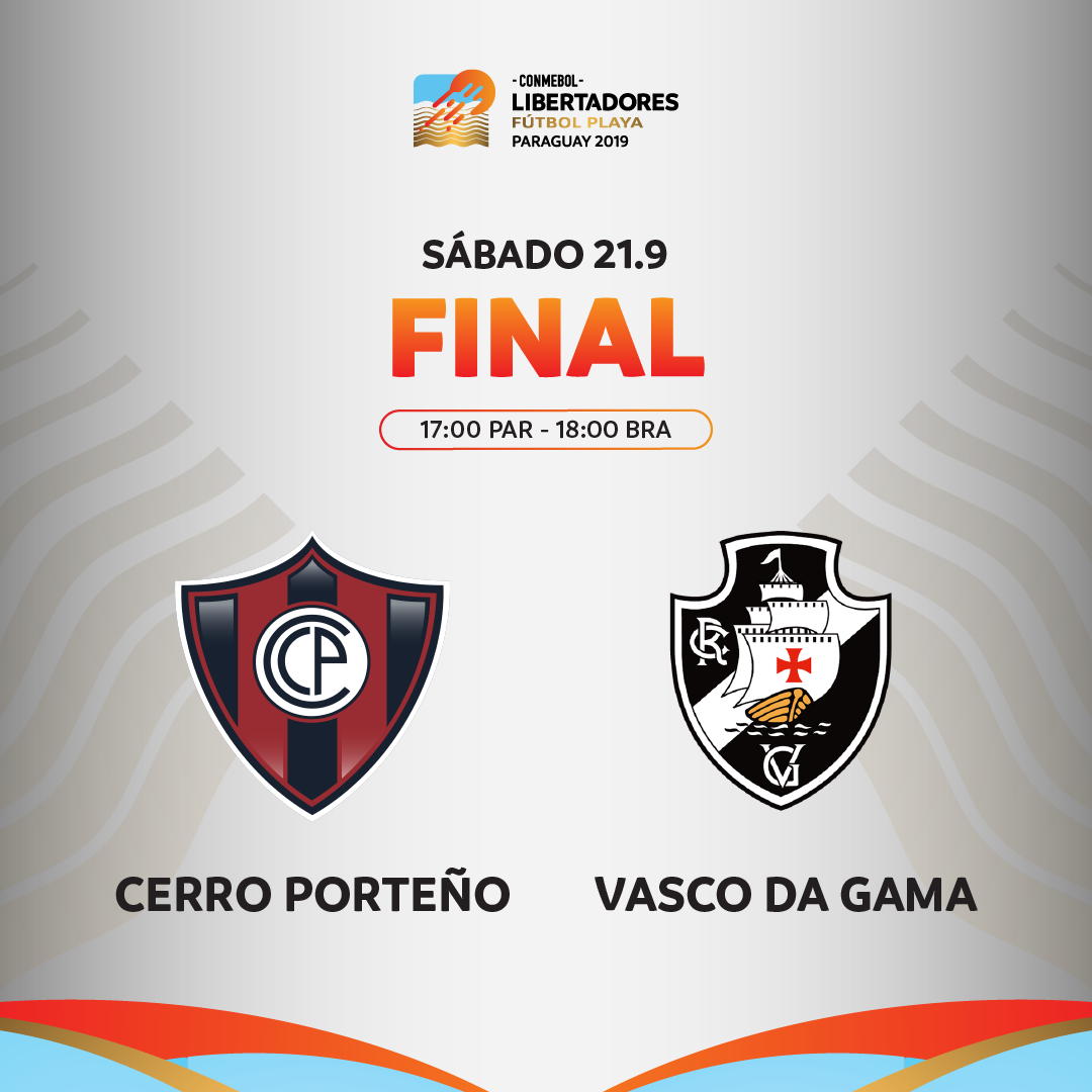 Final Libertadores de Praia