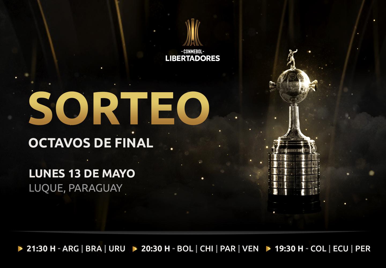 Sorteo de octavos de final de la CONMEBOL Libertadores