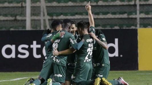 Palmeiras se impuso 2-1 en Bolivia