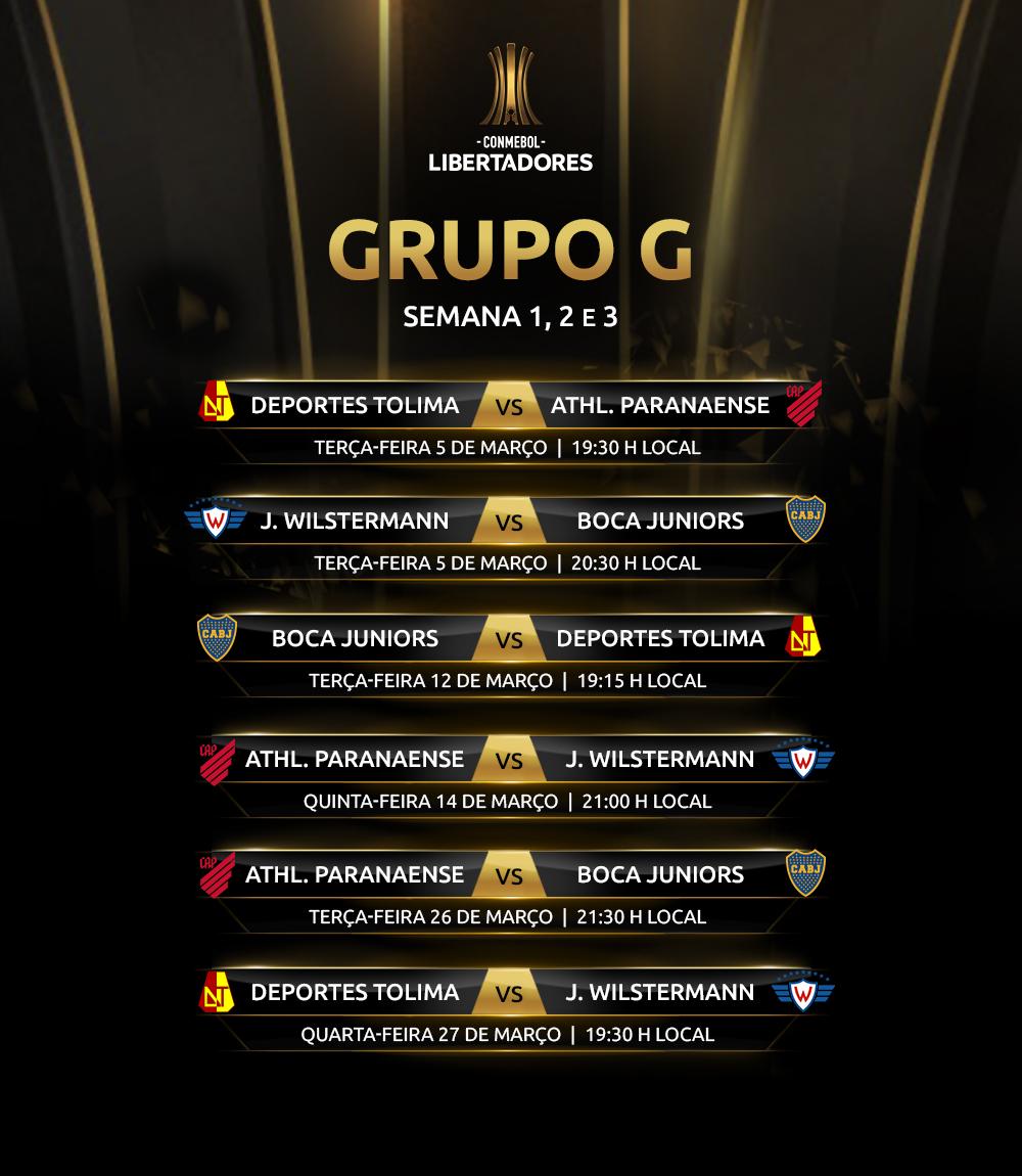 Libertadores 2019 Grupo G ida