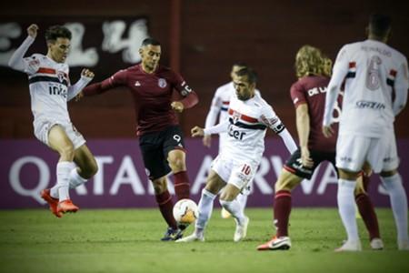 Lanús - Sao Paulo Sudamericana ida