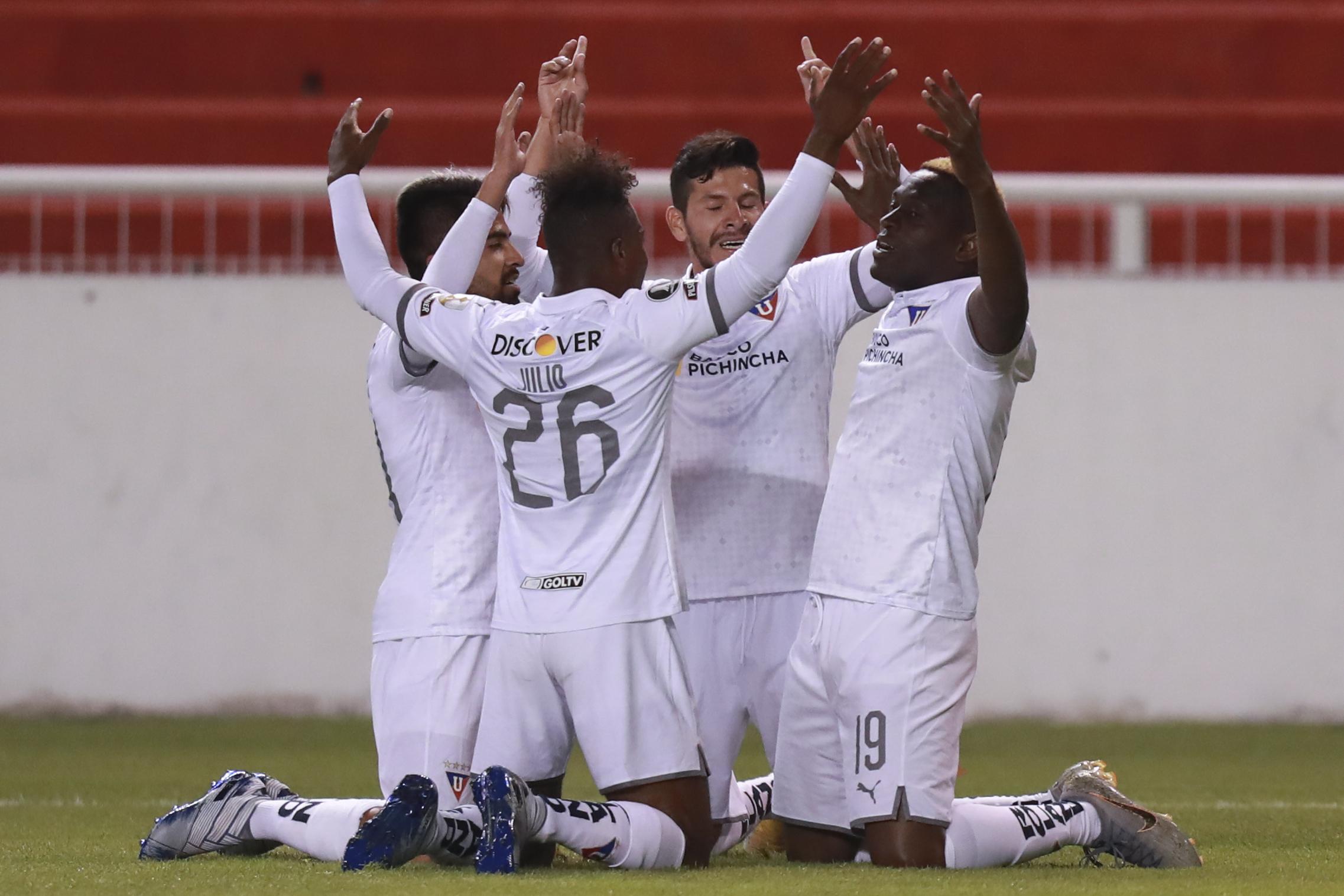 Liga de Quito - Sao Paulo Fecha 4