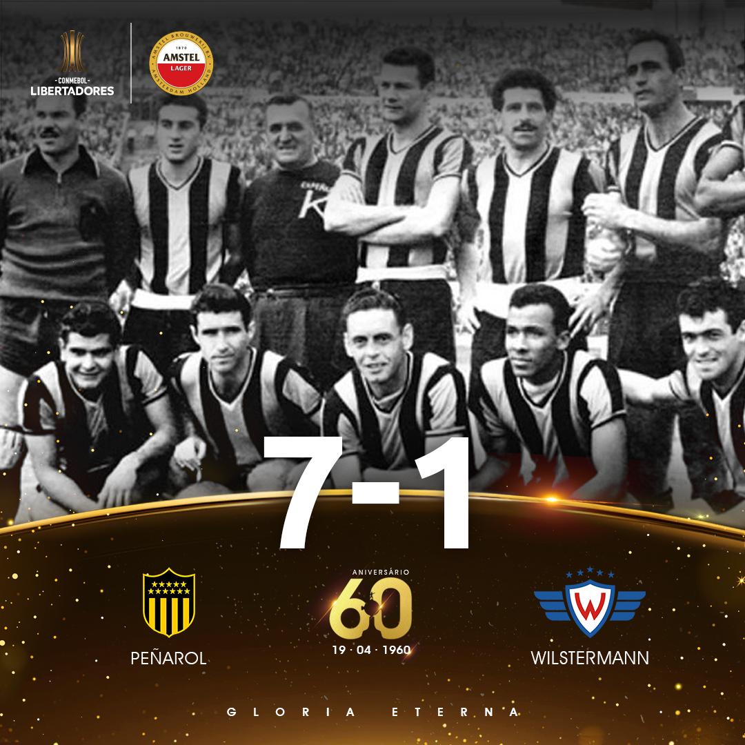 Peñarol x Wilstermann - Libertadores 1960