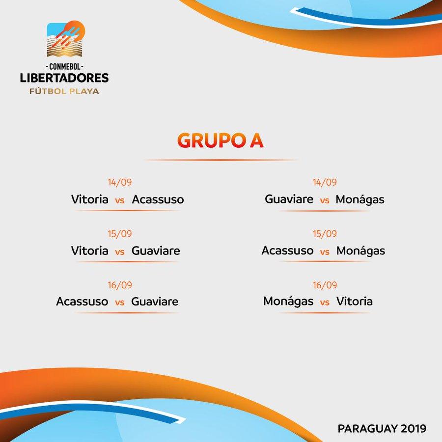 Grupo B - Futebol de Praia