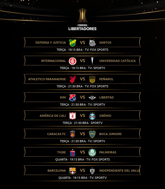 Rodada 1 - Libertadores (2)