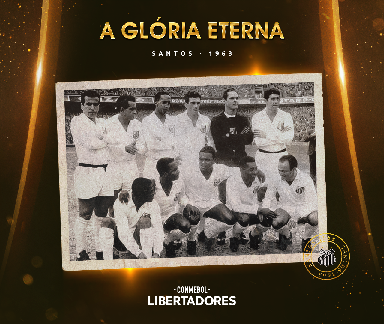 Santos Libertadores 1963