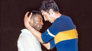 Boca Santos Pele Antonio Rattin CONMEBOL Libertadores 1963